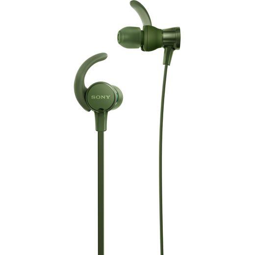 Sony MDR-XB510 In-Ear Sports Headphones - Green