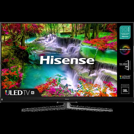 """Hisense QLED 55U8QFTUK 55"""" Smart 4K Ultra HD TV"""