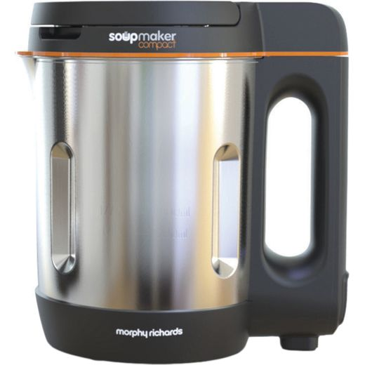 Morphy Richards Compact 501021 1 Litre Soup Maker - Stainless Steel