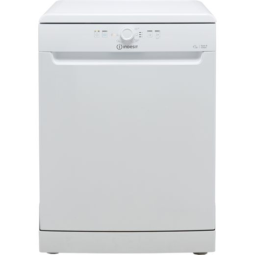 Indesit DFE1B19UK Standard Dishwasher - White - F Rated