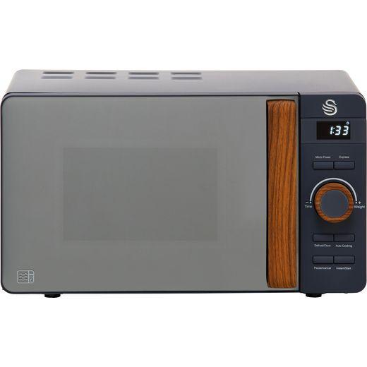 Swan Nordic SM22036GRYN 20 Litre Microwave - Grey