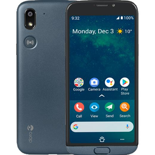 Doro 8050 Smartphone in Grey