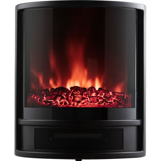 Warmlite WL46031 Log Effect Electric Stove - Black