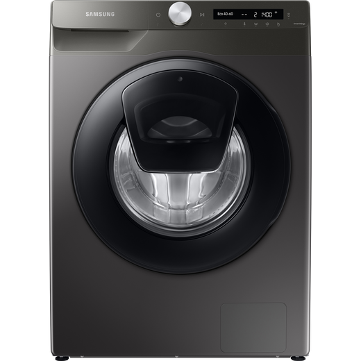 Samsung Series 5+ AddWash™ WW80T554DAN Wifi Connected 8Kg Washing Machine with 1400 rpm - Graphite - B Rated