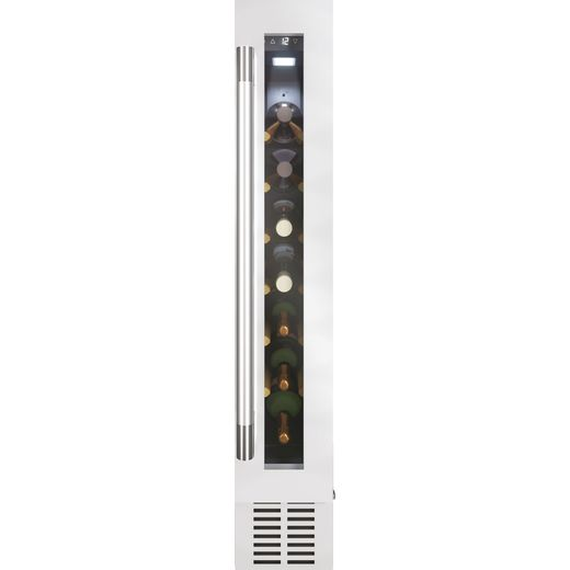 Hoover HWCB15UKSSM/N Built In Wine Cooler - Stainless Steel - A Rated