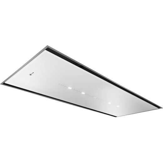 NEFF N70 I25CBS8W0B 120 cm Ceiling Cooker Hood - White - A Rated