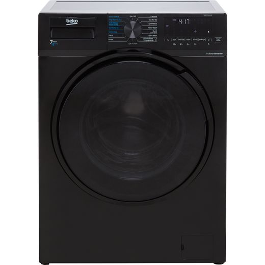 Beko WDL742431B 7Kg / 4Kg Washer Dryer with 1200 rpm - Black - E Rated