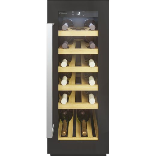 Candy CCVB30UK/1 Built In Wine Cooler - Black - A Rated