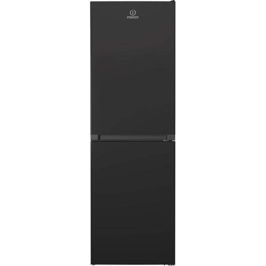 Indesit INFC850TI1K1 50/50 Frost Free Fridge Freezer - Black - F Rated
