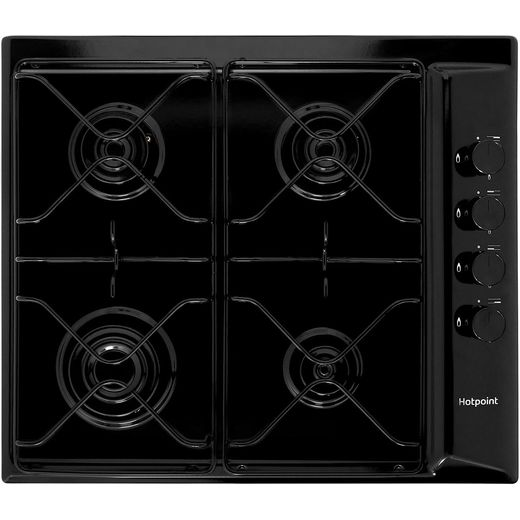 Hotpoint PAS642H Built In Gas Hob - Black