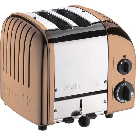 Dualit Classic 27450 2 Slice Toaster - Copper