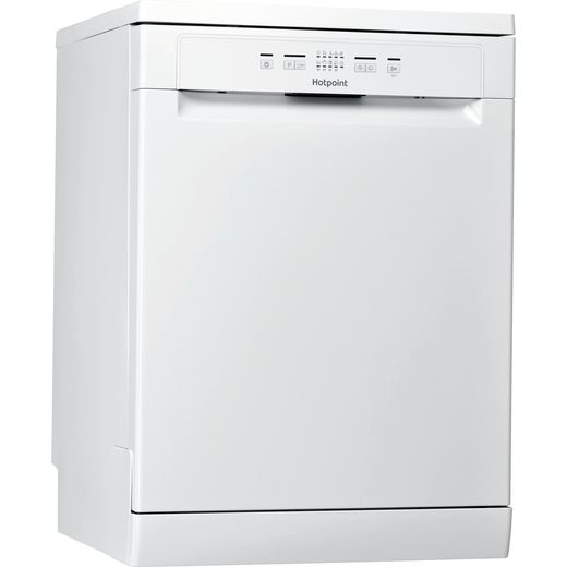 Hotpoint HFC2B19UKN Standard Dishwasher - White - F Rated