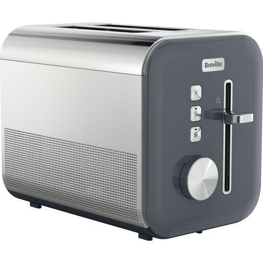 Breville High Gloss VTT968 2 Slice Toaster - Grey