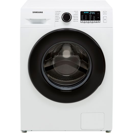 Samsung Series 5 ecobubble™ WW90TA046AE 9Kg Washing Machine with 1400 rpm - White - A Rated