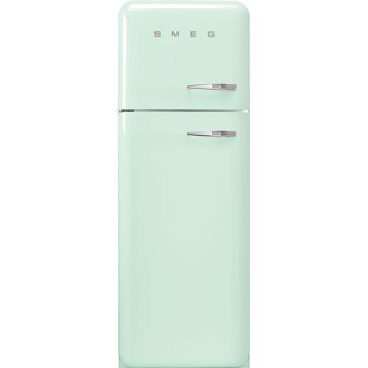 Smeg Left Hand Hinge FAB30LPG5UK 70/30 Fridge Freezer - Pastel Green - D Rated