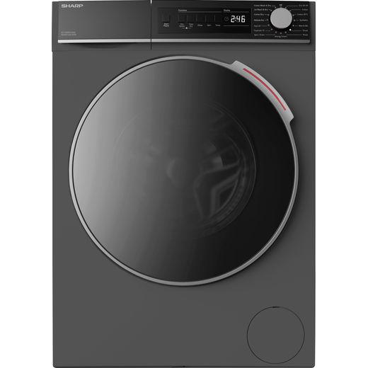 Sharp ES-NDB8144AD-EN 8Kg / 6Kg Washer Dryer with 1400 rpm - Graphite - E Rated