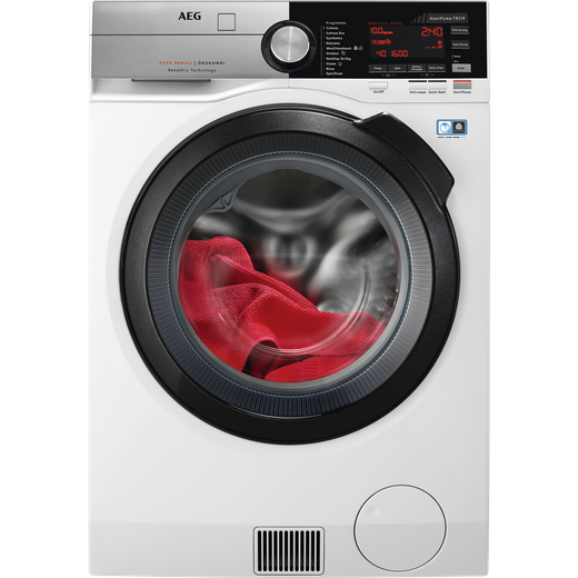 AEG SensiDry Technology L9WEC169R 10Kg / 6Kg Washer Dryer with 1550 rpm - White - C Rated