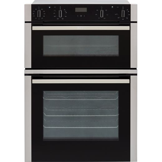 NEFF N50 U1ACI5HN0B Built In Electric Double Oven - Stainless Steel - A/B Rated