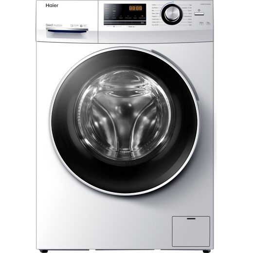 Haier HW80-B14636N 8Kg Washing Machine with 1400 rpm - White - A Rated