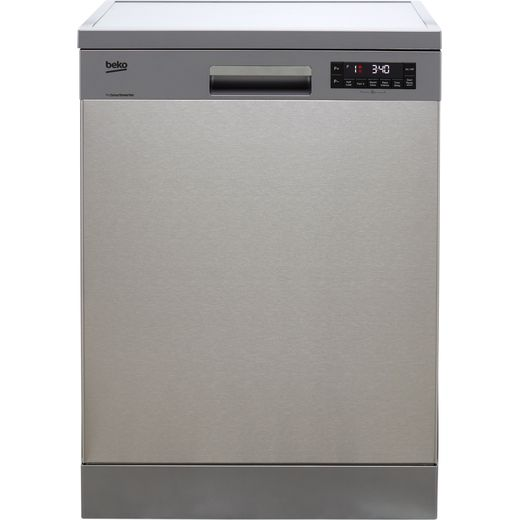 Beko DFN28R22X Standard Dishwasher - Stainless Steel - A++ Rated