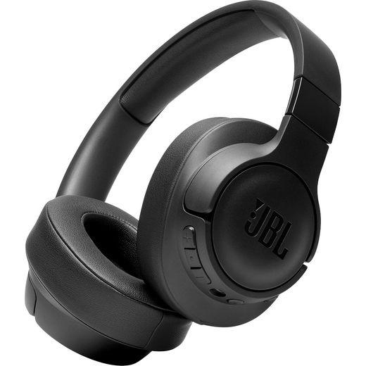 JBL TUNE 750BTNC Over-Ear Wireless Bluetooth Headphones - Black