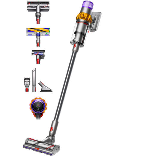 Dyson V15 Detect Absolute Cordless Vacuum Cleaner with up to 60 Minutes Run Time
