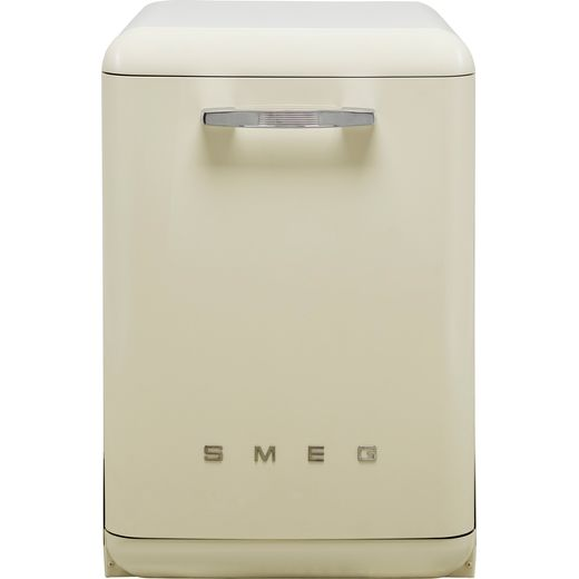 Smeg DF13FAB3CR Standard Dishwasher - Cream - D Rated