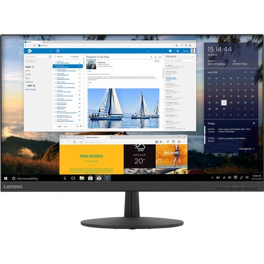 "Lenovo L27q-30 Quad HD 27"" 75Hz Monitor with AMD FreeSync - Black"