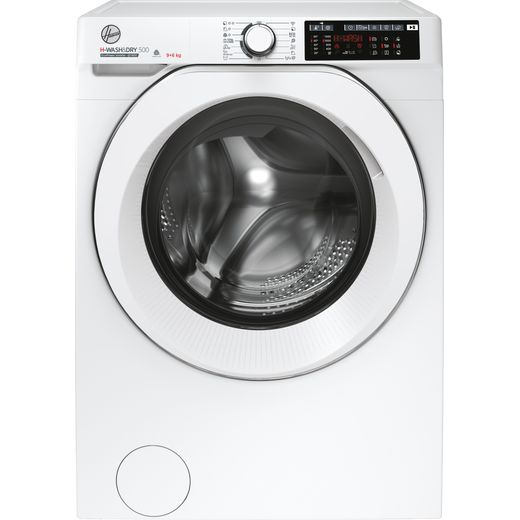 Hoover H-WASH 500 HD496AMC/1 Wifi Connected 9Kg / 6Kg Washer Dryer with 1400 rpm - White - D Rated