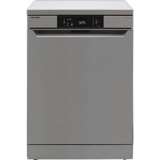 Sharp QW-NA1CF47ES-EN Standard Dishwasher - Silver