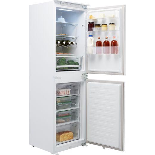 Hisense RIB291F4AWF Integrated 50/50 Frost Free Fridge Freezer with Sliding Door Fixing Kit - White - F Rated