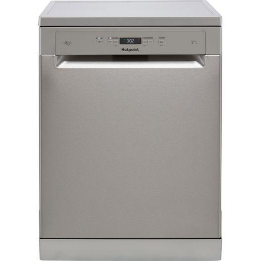 Hotpoint HFC3T232WFGXUK Standard Dishwasher - Stainless Steel