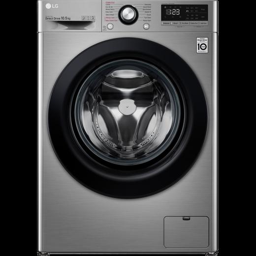 LG V3 F4V310SSE 10.5Kg Washing Machine with 1400 rpm - Graphite - B Rated