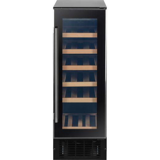 Baumatic BWC305SS/3 Built In Wine Cooler - Black
