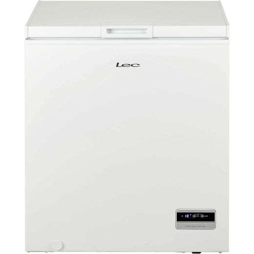 Lec CF150LMk2 Chest Freezer - White - F Rated