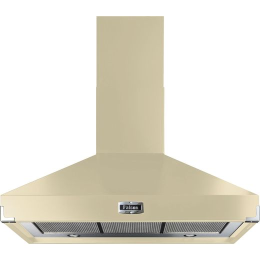 Falcon FHDSE900CR/C 90 cm Chimney Cooker Hood - Cream - A Rated