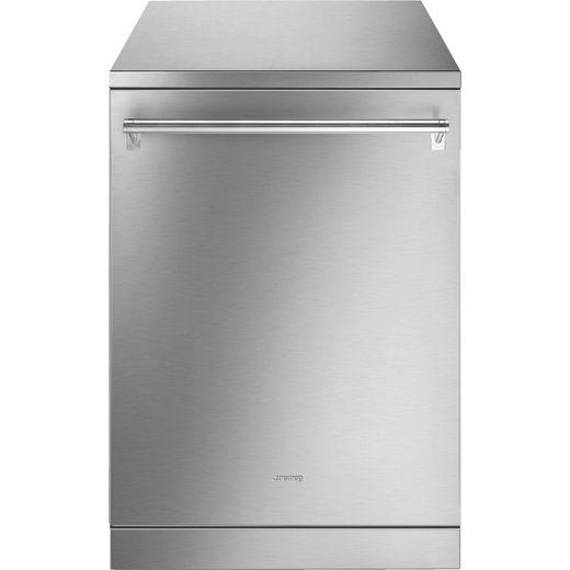 Smeg DFA34BSTX Standard Dishwasher - Stainless Steel - B Rated
