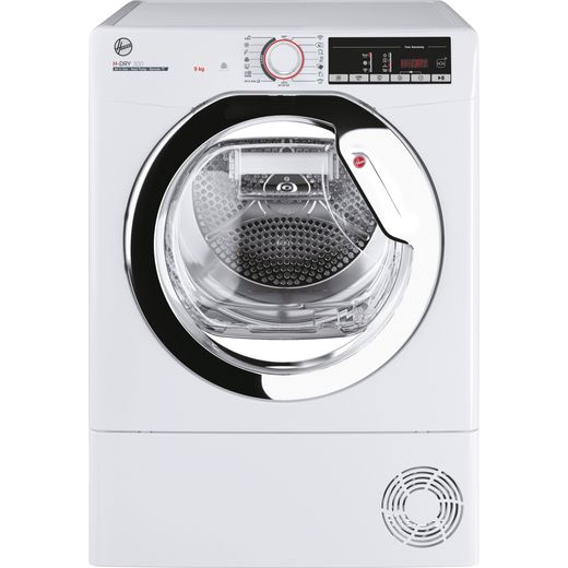 Hoover H-DRY 300 HLEH9A2TCE 9Kg Heat Pump Tumble Dryer - White - A++ Rated