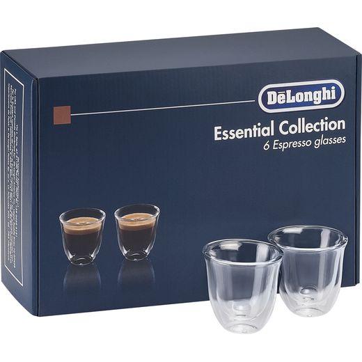 De'Longhi Essentials DLKC300 Espresso Glasses