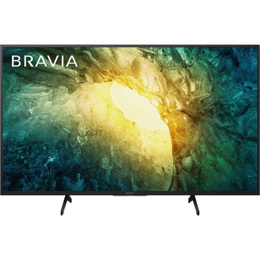 "Sony Bravia KD49X7052PBU 49"" Smart 4K Ultra HD TV With TRILUMINOS Display and Clear Audio+"
