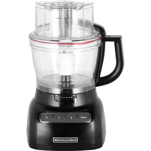 KitchenAid 5KFP1335BOB 3.1 Litre Food Processor With 4 Accessories - Onyx Black