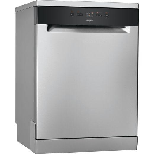 Whirlpool WFE2B19XUKN Standard Dishwasher - Stainless Steel