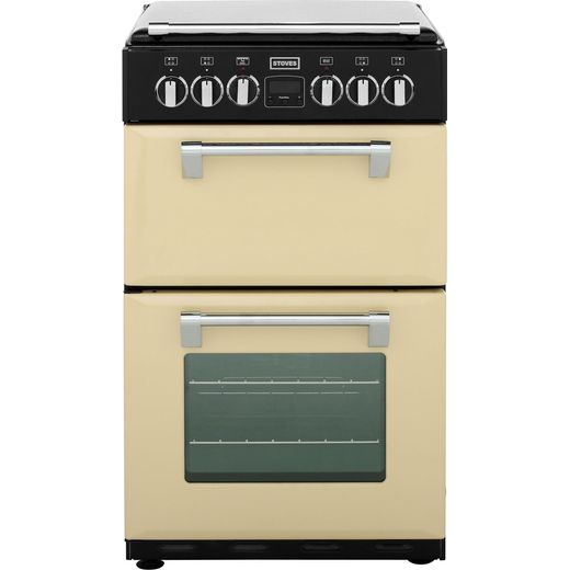 Stoves Mini Range RICHMOND550E 55cm Electric Cooker with Ceramic Hob - Champagne - A/A Rated
