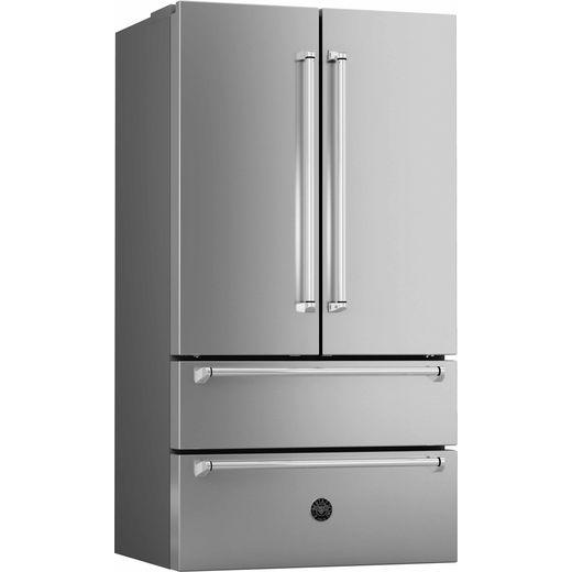 Bertazzoni Master Series REF90X American Fridge Freezer - Stainless Steel - F Rated