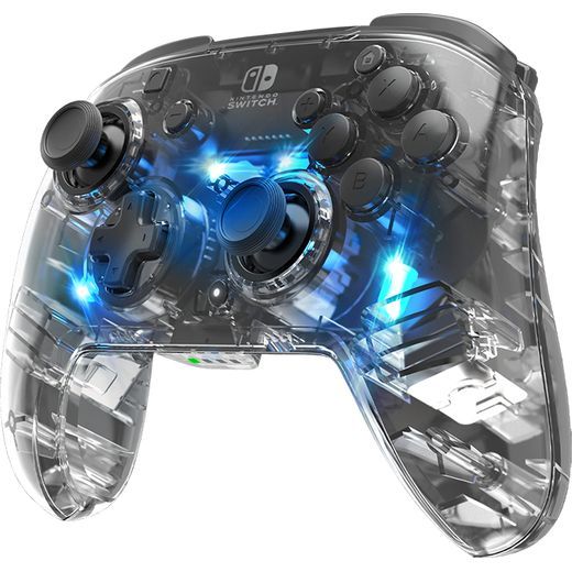 PDP Afterglow Wireless Controller - Clear