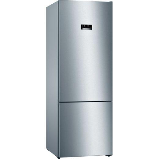 Bosch Serie 4 KGN56XLEA 70/30 Frost Free Fridge Freezer - Stainless Steel Effect - E Rated
