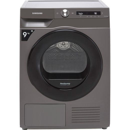Samsung Series 5+ OptimalDry™ DV90T5240AN Wifi Connected 9Kg Heat Pump Tumble Dryer - Graphite - A+++ Rated