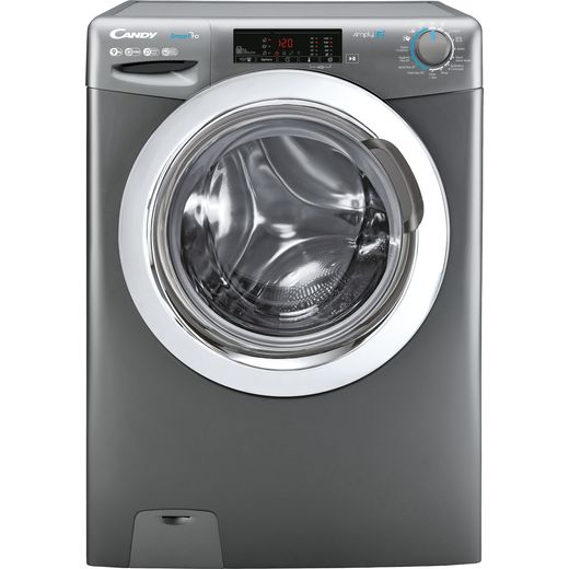 Candy Smart Pro CSO14103TWCGE Wifi Connected 10Kg Washing Machine with 1400 rpm - Graphite - A+++ Rated