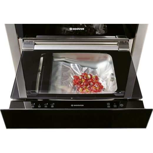 Hoover H-DRAWER 700 HVSD14 SV Built In Sous Vide Vacuum Sealer - Black