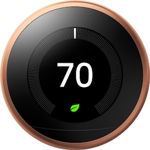Nest Learning Smart Thermostat 3rd Gen - Requires Professional Install - Copper